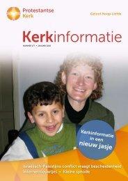 Kerkinformatie nr. 177, januari 2010 - Kerk in Actie