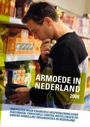 Armoede in Nederland 2008 - Kerk in Actie