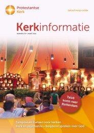 Kerkinformatie nr. 179, maart 2010 - Kerk in Actie