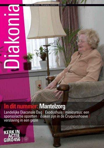 In dit nummer:Mantelzorg - Kerk in Actie