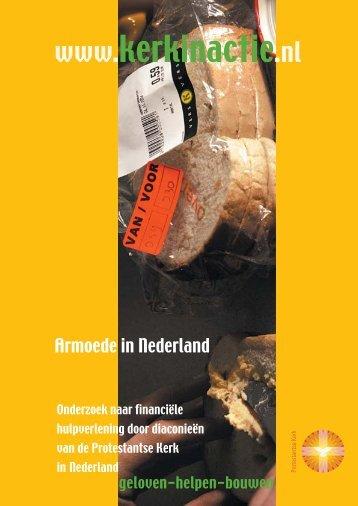 Armoede in Nederland - Kerk in Actie