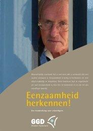 Brochure Eenzaamheid herkennen - Kerk in Actie