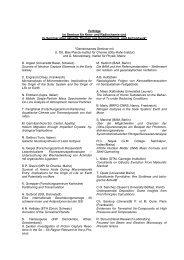 Vorträge im Seminar für Kern - Institut für Kernchemie