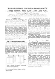 Prototype developments for a high-resolution neutron detector at R B