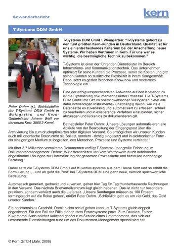 T-Systems DDM GmbH - Weingarten.pdf - Kern Schweiz