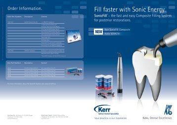 SonicFill - Kerr