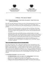 Thesenpapier Nahost - Kerstin Mueller, MdB