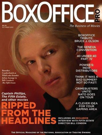 Boxoffice® Pro - October 2013
