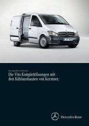 Mercedes-Benz Vito VAN-Solution - Kerstner