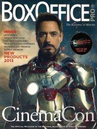 BoxOffice® Pro - May 2013