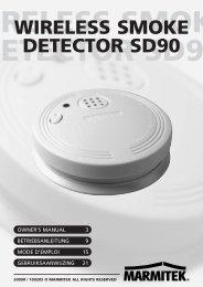 wireless smoke detector sd90 - Files