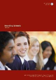 Boarding Schools - international Experience