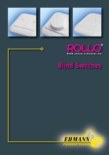 Blind Switches - Ehmann