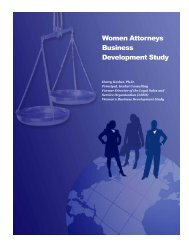 Women Attorneys Report - Keshet Consulting