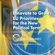 EU Priorities for the New Political Term - Kauppakamari