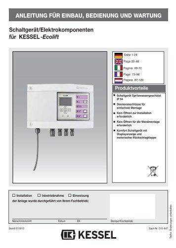 KESSEL-Kleinkläranlagen INNO-CLEAN® - Kessel Design