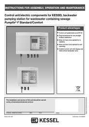 7. Operating the Comfort control unit - Kessel Design