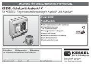 KESSEL-Schaltgerät Aqatronic® K für KESSEL ...