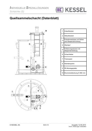 pumpstation im wickelrohr dn 1300 datenblatt kessel. Black Bedroom Furniture Sets. Home Design Ideas