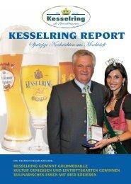 KESSELRING REPORT - Herzlich Willkommen in der Privatbrauerei ...