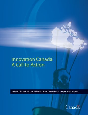Innovation Canada: A Call to Action - Review of Federal Support to ...