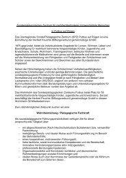 Wohnheimleitung / Pädagogische Fachkraft