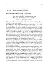 Vorwort Prof. Dr. Erika Schuchardt