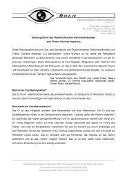 Österreichischer Gehörlosenbund - Verlag Karin Kestner
