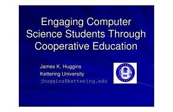 James K. Huggins Kettering University jhuggins@kettering.edu