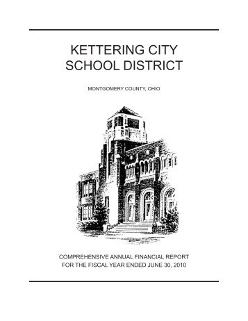 CAFR 2010 - Kettering City School District