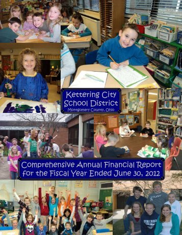 Comprehensive Annual Financial Report 2012 - Kettering City ...