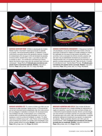 os tênis - Revista Contra-Relógio