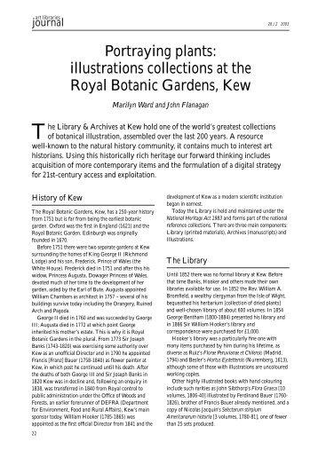Portraying plants - Royal Botanic Gardens, Kew