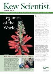 Legumes of the World - Royal Botanic Gardens, Kew