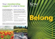 download our information leaflet - Royal Botanic Gardens, Kew