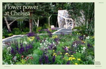 There's a simple but crucial message behind the stunning garden ...