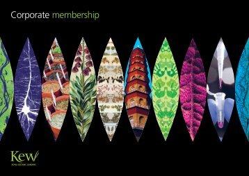 Corporate membership - Royal Botanic Gardens, Kew