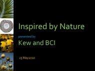 Inspired by Nature - Royal Botanic Gardens, Kew