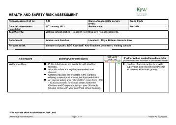 Sorensen tree consultancy generic risk assessment arbtalk for Gardening risk assessment