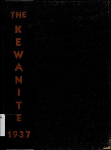 THE KEWANITE 1937 - Kewanee Public Library District