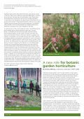 A successful partnership between seed banking and horticulture: - Page 2