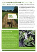 A successful partnership between seed banking and horticulture: - Page 4