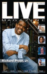 LIVE Magazine Vol 7, Issue #179 March 21st thru April 4th