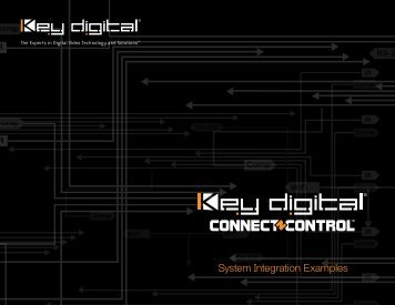 2008-09 SDG Connect-N-Control Brochure - Key Digital