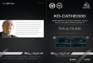 KD-CATHD300 - Key Digital