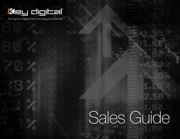 Sales Guide - Key Digital