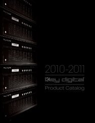 2010-2011 Product Catalog - 13 Mb - Key Digital