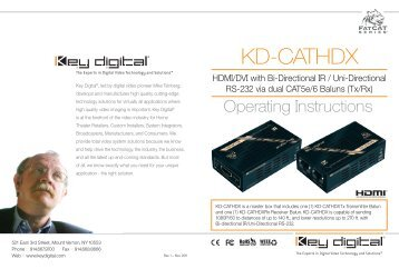 KD-CATHDX - Key Digital