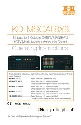 KD-MSCAT8X8 - Key Digital
