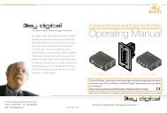 Operating Manual - Key Digital